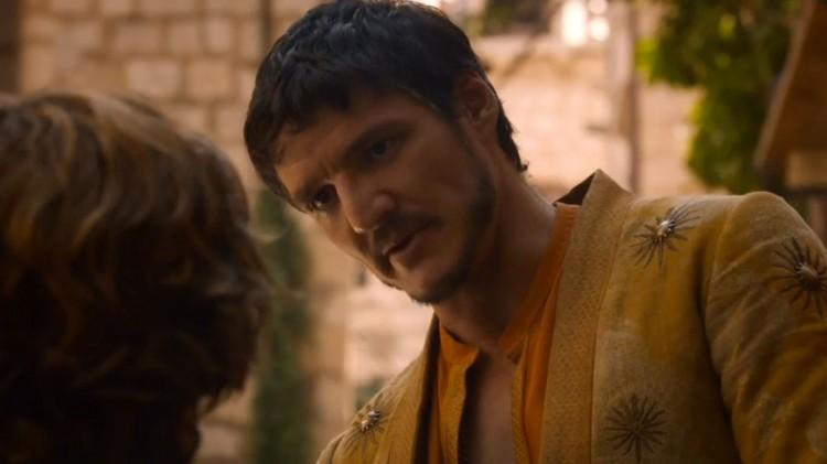 Oberyn Martell, spilt av Pedro Pascal, blir en interessant rollefigur å følge med på i Game of Thrones. (Foto: HBO).