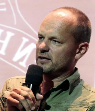 Harald Rosenløw Eeg har skrevet manuset til «Julekongen» sammen med Lars Gudmestad. (Foto: Lise Åserud / NTB scanpix)