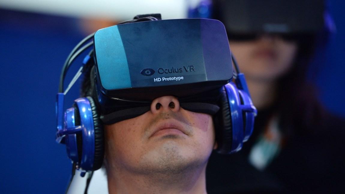 Oculus Rift. (Foto: AFP Photo/Robyn Beck)