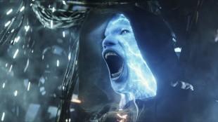 Electro (Jamie Foxx) i Spider-Man i The Amazing Spider-Man 2 (Foto: United International Pictures).