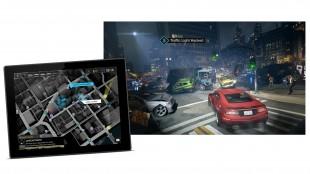 Hackereventyet «Watch Dogs» tok i bruk både nettbrett og mobiltelefoner, i tillegg til vanlige spillmaskiner. Kompleksiteten førte til at spillet ble utsatt i flere måneder. (Foto: Ubisoft).