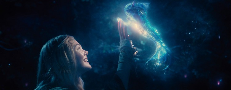 Elle Fanning spiller prinsesse Aurora i Maleficent. (Foto: The Walt Disney Company Nordic).
