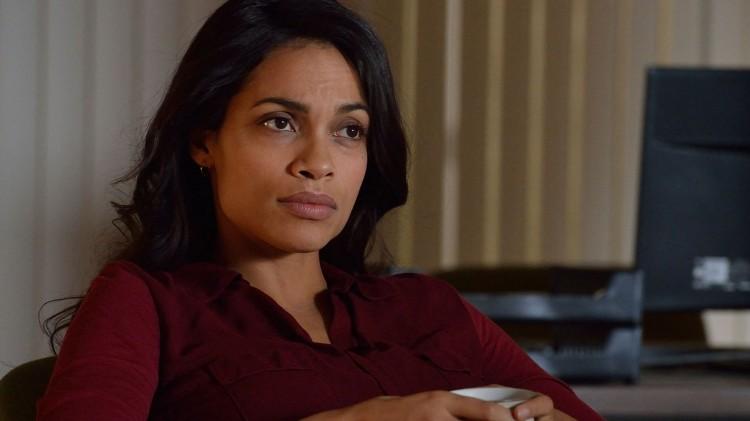 Rosario Dawson spiller etterforskeren Nicole i The Captive. (Foto: A24).
