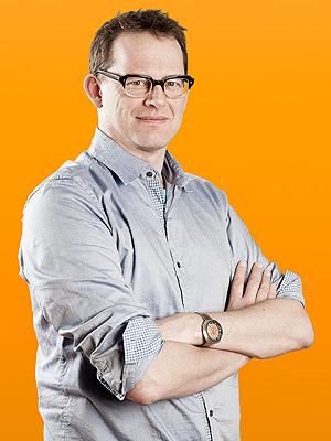 Anders Hofseth i NRKbeta. (Foto: Kim Erlandsen, NRK)