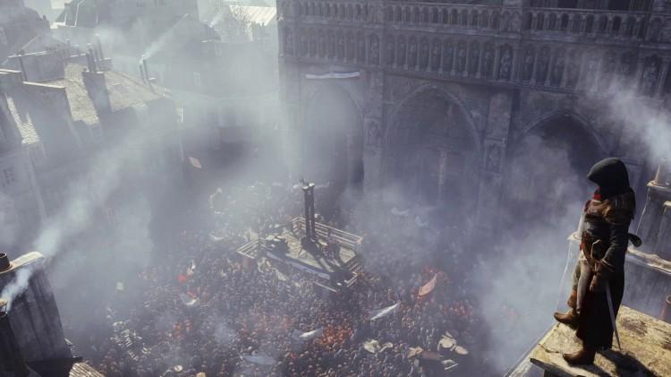Du kan ikke spille som kvinne i Assassin's Creed: Unity. (Foto: Ubisoft)