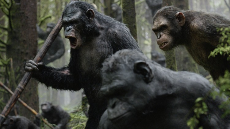 Dawn of the Planet of the Apes. (Foto: 20th Century Fox).
