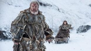 Hodor og Bran i fjerde sesong av Game of Thrones. (Foto: HBO).