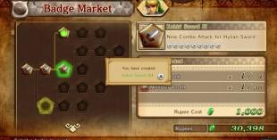 Menysystemet er unødvendig kronglete. Skjermbilde fra «Hyrule Warriors». (Promofoto: Nintendo / Koei Tecmo)