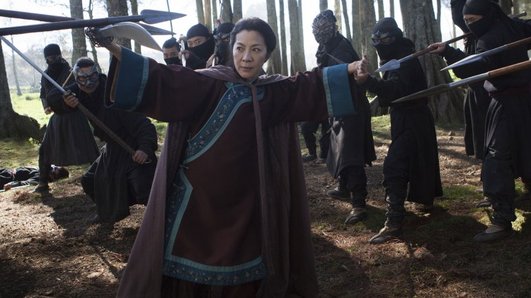Michelle Yeoh som Yu Shu Lien i Crouching Tiger, Hidden Dragon: The Green Legend. (Foto: Netflix).