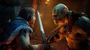 Talion har færre ansiktsuttrykk enn sine orkemotstandere i «Middle-earth: Shadow of Mordor». Nesten som Liam Neeson i «Taken»-filmene. (Promofoto: Warner Bros. Games)