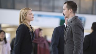 Peter Quinn. spilt av Rupert Friend, sliter med dårlig samvittighet for det jobben krever av ham i fjerde sesong av Homeland. (Foto: Showtime, TV2).