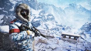Spillområdet er ikke større enn i «Far Cry 3», men er tettpakket. Høydeforskjellene gir en forsterket opplevelse av skala og natur. (Promofoto: Ubisoft)