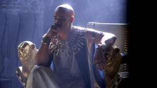 Joel Edgerton som farao Ramses Exodus: Gods and Kings (Foto: 20th Century Fox).