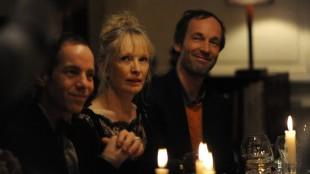 Meg (Lindsay Duncan) i fornemt selskap i Le Week-end (Foto: SF Norge AS).