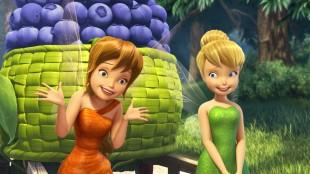 Hvem er egentlig hovedpersonen i «Tingeling og legenden om drømmebeistet»? Ikke Tingeling, men venninnen Fie (venstre). (Foto: ©2014 Disney Enterprises, Inc. All Rights Reserved)