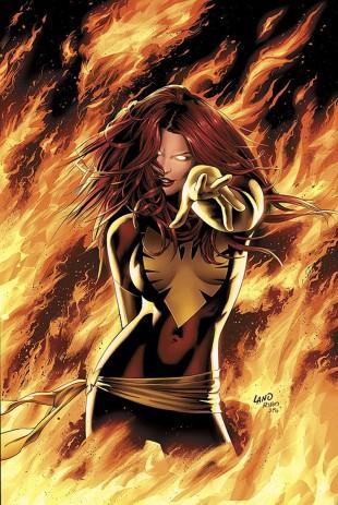 Jean Grey som Dark Phoenix. (Foto: Marvel).