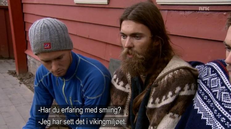 smiiking i vikingmiljoet