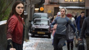 Elizabeth Olsen og Aaron Taylor-Johnson spiller dødelige tvillinger i Avengers: Age Of Ultron (Foto: ©Marvel).