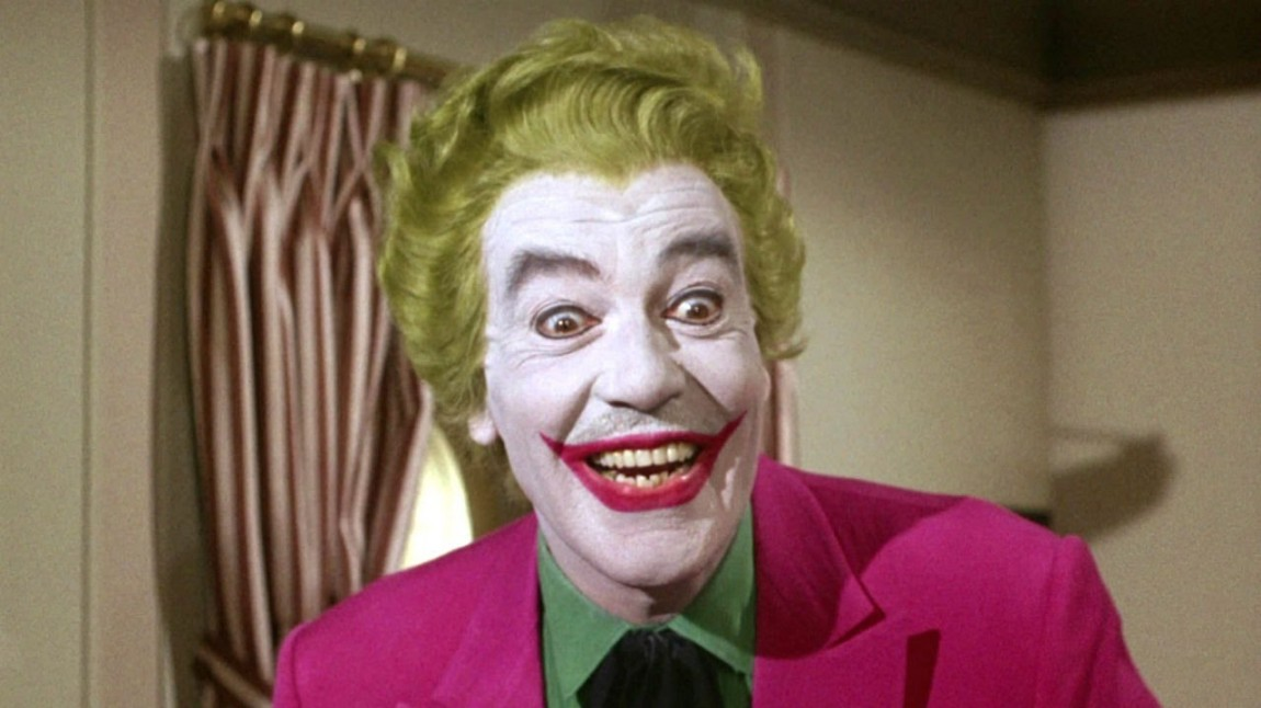 Cæsar Romer spilte «The Joker» i «Batman: The Movie» og i TV-serien «Batman». (Foto: Twentieth Century Fox Film Corporation )