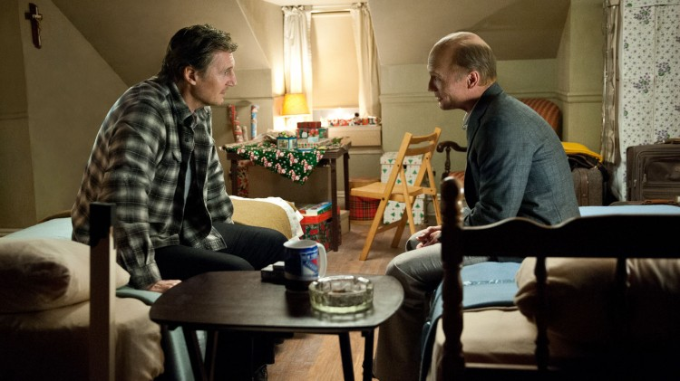 Jimmy (Liam Neeson) og Maguire (Ed Harris) er gamle venner i Run All Night (Foto: SF Norge AS).