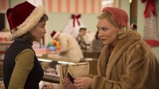 Rooney Mara og Cate Blanchett i filmen Carol (Foto: Festival de Cannes).