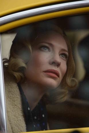 Cate Blanchett spiller hovedrollen i regissør Todd Haynes' film Carol (Foto: Festival de Cannes).