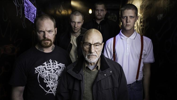 Patrick Stewart spiller lederen for nynazistene i Green Room (Festival de Cannes).