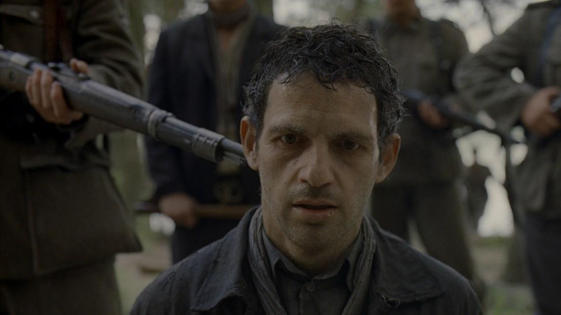 Det er mange intense inntrykk i Sauls sønn (Foto: Arthaus, Laokoon Filmgroup).