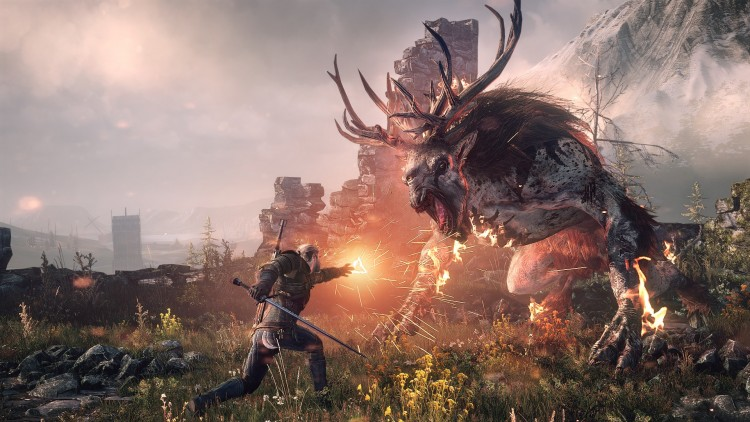 The Witcher 3: Wild Hunt. (Foto: Microsoft).