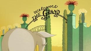 Grand Hotel er begivenhetenes sentrum i Mummitrollet på Rivieraen (Foto: Europafilm AS).