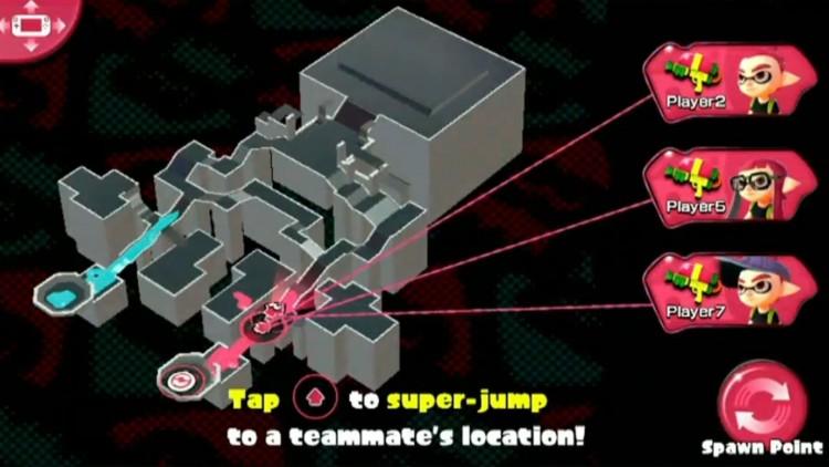 På gamepad-skjermen har du oversikt over spillbrettet. (Foto: Nintendo).