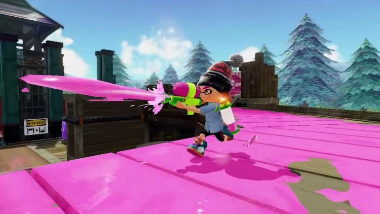 Splatoon. (Foto: Nintendo).