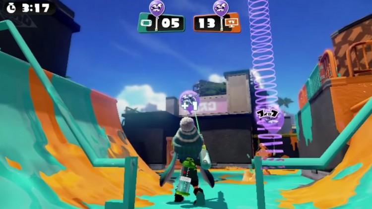 I den lokale flerspilleren må du klare å ta flere ballonger enn motstanderen.(Foto: Nintendo).