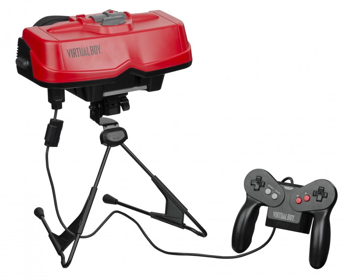 Nintendos VR-forsøk på 90-tallet, Virtual Boy, var på markedet i seks måneder, og ble Nintendos største flopp. (Foto: Wikimedia Commons)