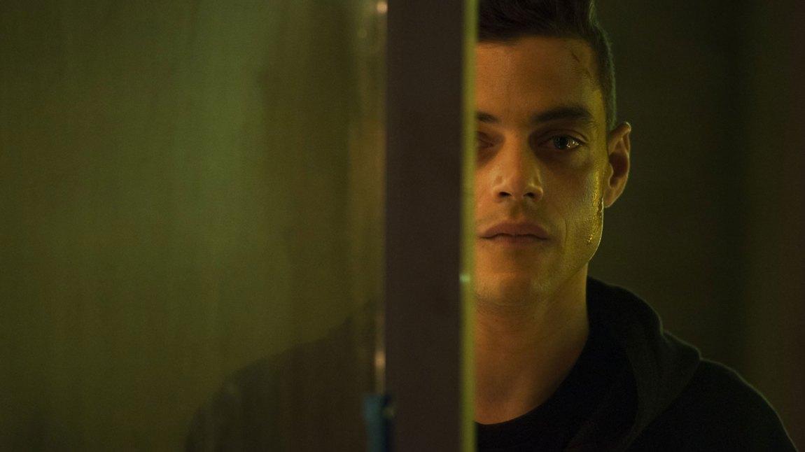 Rami Malek er strålende i Mr. Robot. (Foto: NBCUniversal Television Distribution).