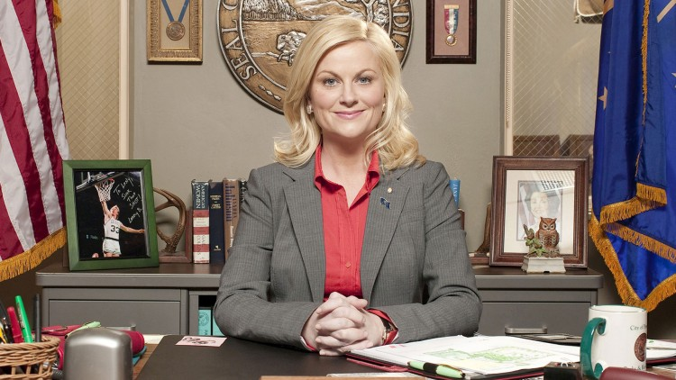 Amy Poehler i Parks and Recreation. (Foto: C More).