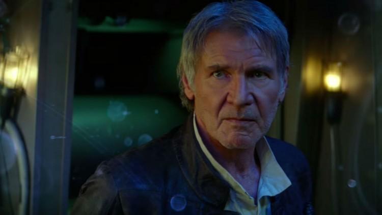 Harrison Ford som Han Solo i Star Wars: The Force Awakens (Foto: The Walt Disney Company).