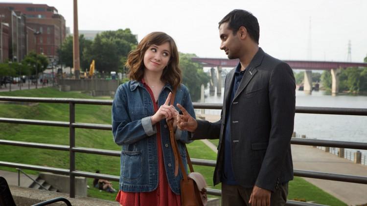 Rachel (Noël Wells) og Dev (Aziz Ansari) (Foto: Netflix)