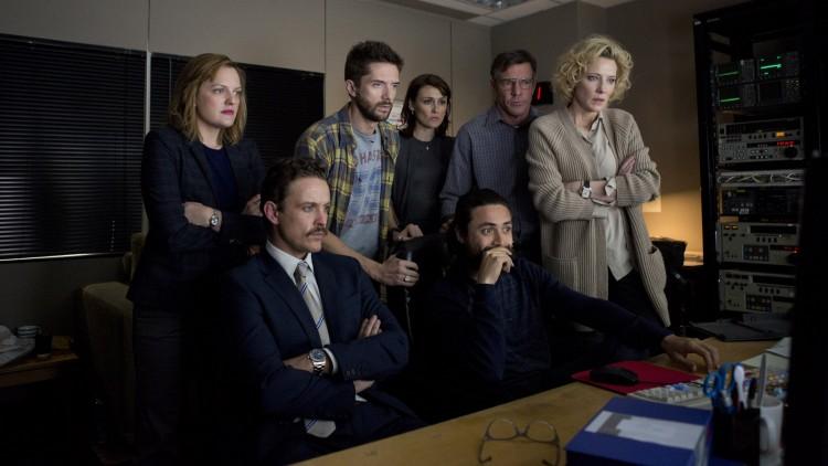 60 Minutes-teamet klipper ferdig reportasjen i Truth (Foto: Norsk Filmdistribusjon).