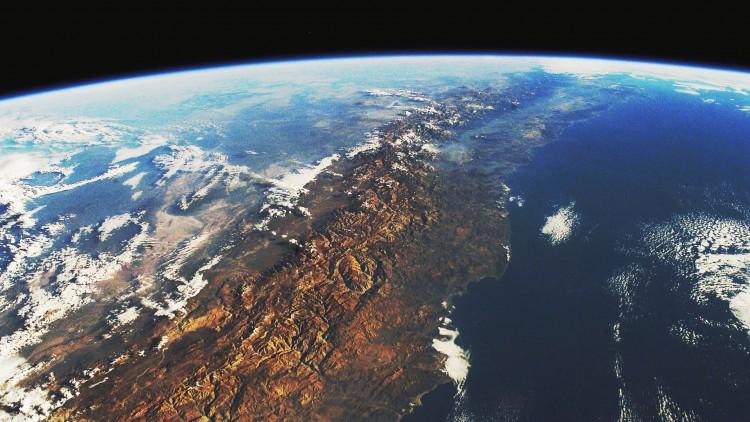 Chile sett fra verdensrommet i The Pearl Button: Vannets mysterium. (Foto: Tour de Force
