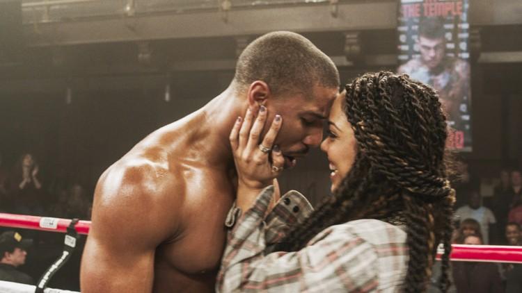 Adonis (Michael B. Jordan) og Bianca (Tessa Thompson) i Creed - The Legacy of Rocky (Foto: SF Norge AS).