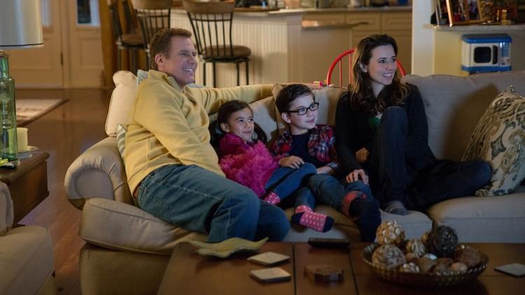 Dette er familielykken som Brad (Will Ferrell) forsøker å redde i Daddy's Home (Foto: United International Pictures).