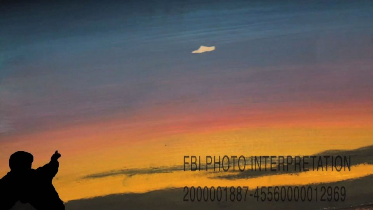Fra vignetten til The X-Files. (Foto: FOX).