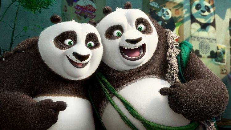 Po får endelig møte noen som ligner på seg selv i den tredje filmen. (Foto: DreamWorks Animation LLC.)