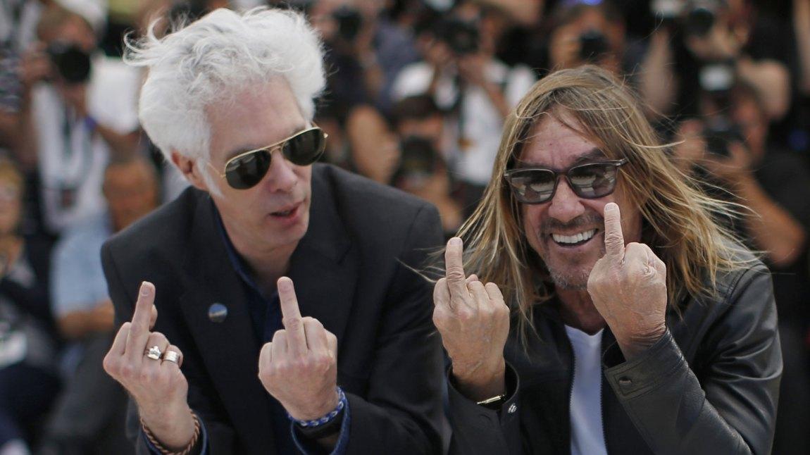 Regissør Jim Jarmusch og musiker Iggy Pop. (Foto: REUTERS/Eric Gaillard)