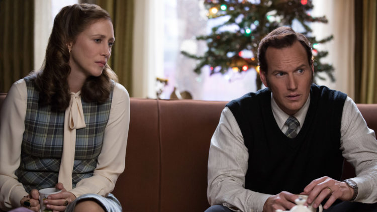 Vera Farmiga og Patrick Wilson spiller demonutdriverne Lorraine og Ed Warren for andre gang i The Conjuring 2. (Foto: SF Norge AS).