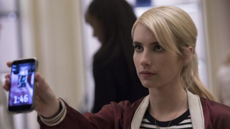 Nerve med Emma Roberts tar delekulturen på kornet. (Foto: Nordisk Film Distribusjon AS)
