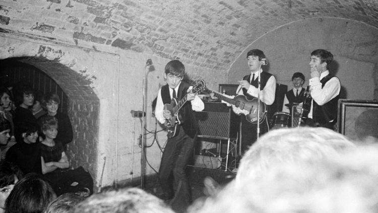 The Beatles: Eight Days a Week - The Touring Years viser levende bilder fra legendariske The Cavern Club i Liverpool. (Foto: Apple Corps Ltd.)