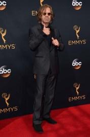 William H. Macy kjørte helsvart på Emmy-utdelingen. (Foto: Jordan Strauss/Invision/AP, NTB Scanpix).