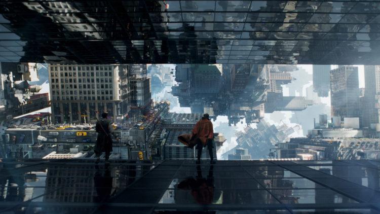 Spektakulær forfølgelsesscene i Doctor Strange låner åpenlyst fra Inception. (Foto: ©2016 Marvel. All Rights Reserved)